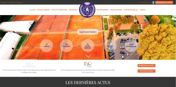 site internet tennis club de lyon
